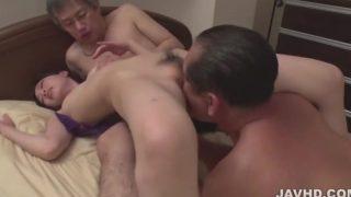 Misaki Yoshimura Pumped Tricky Asian Threesome
